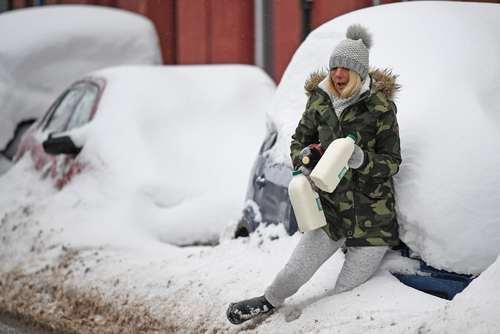 سُر خوردن در برف- اسکاتلند