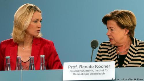 پرفسور رناته کوشر (Renate Köcher) رئیس موسسه نظرسنجی