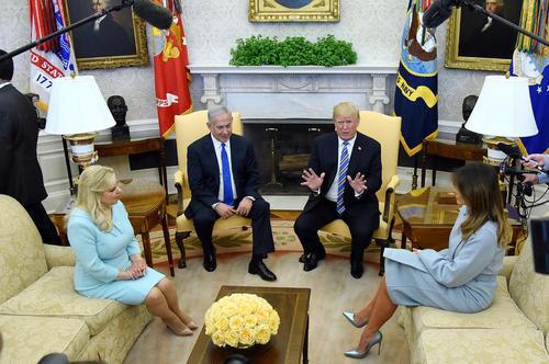 دیدار نتانیاهو با ترامپ در کاخ سفید