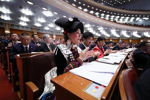 سیزدهمین کنگره ملی خلق چین – پارلمان- در پکن