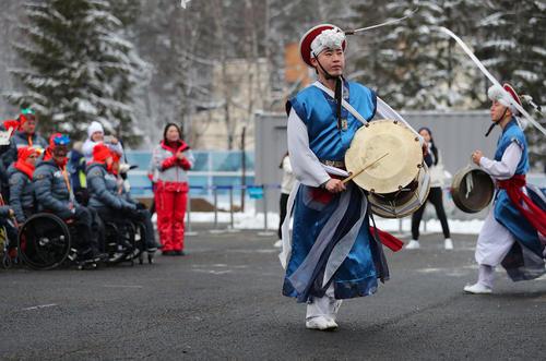 استقبال از هیات ورزشی آلمان برای حضور در رقابتهای پاراالمپیک زمستانی 2018 در شهر پیونگ چانگ کره جنوبی