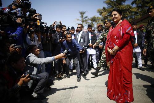 اعلام نامزدی دوباره رییس جمهوری نپال برای شرکت در انتخابات آتی ریاست جمهوری این کشور