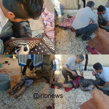 2 مصدوم در انفجار مواد محترقه در منزل مسکونی - باقرشهر تهران