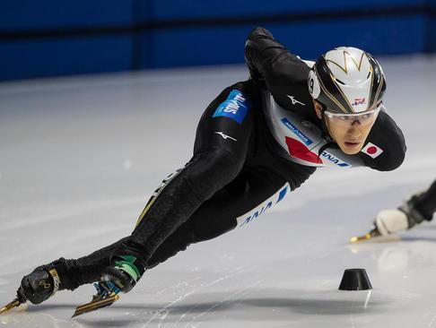 جلسه تمرینی تیم ژاپن در مسابقات اسکیت سرعت در مونترال کانادا