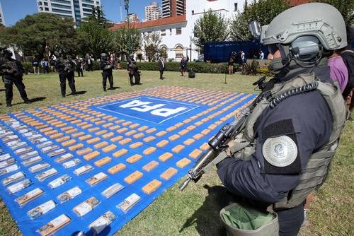 کشف 458 کیلو کوکایین از سوی پلیس فدرال آرژانتین
