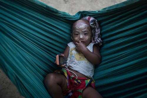 اردوگاه مسلمانان روهینگیایی در استان راخین میانمار