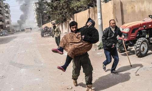 شهر عفرین سوریه پس از ورود نیروهای ترکیه – عکس: خبرگزاری فرانسه