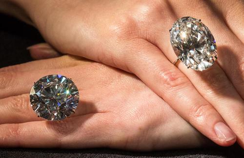 فروش بزرگ ترین الماس سفید – 50 قیراطی- در حراج