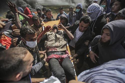 تنش در مرز غزه و اسراییل/عکس:APA