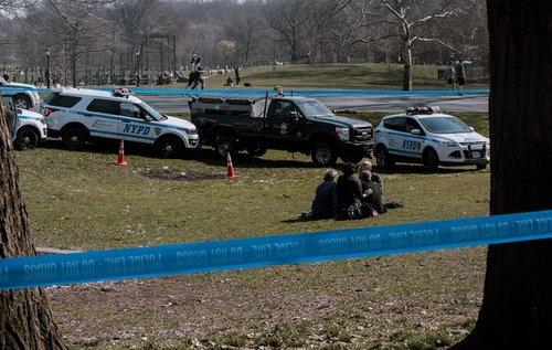 محل کشف جسد باکل در پارک پراسپکت در محله بروکلین شهر نیویورک/ عکس: نیویورک تایمز