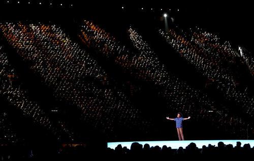 مراسم اختتامیه بازیهای کشورهای مشترک المنافع بریتانیا در شهر