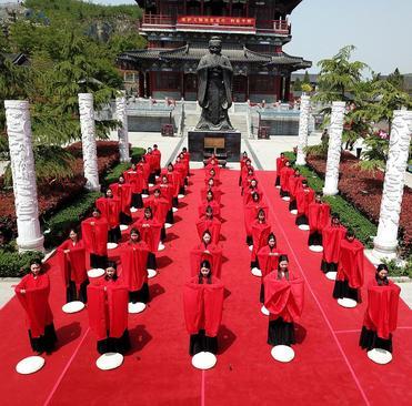 برگزاری جشنواره آیینی شانگسی در چین