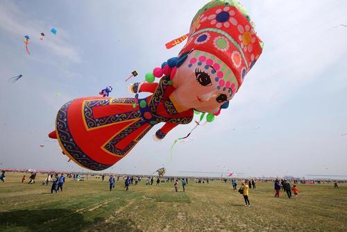 جشنواره بالن در استان شاندونگ چین