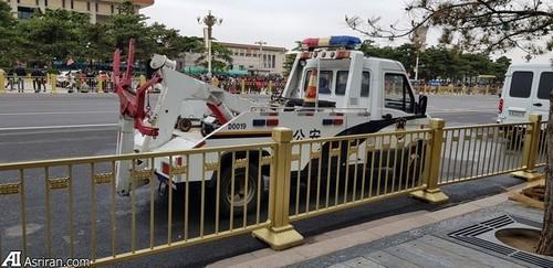 ماشین حمل خودرو پلیس