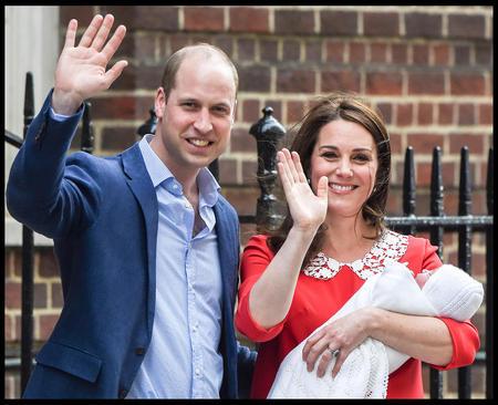مرخص شدن کاترین میدلتون همسر نوه ملکه بریتانیا از بیمارستان سنت مری لندن پس از به دنیا آوردن سومین فرزندش که یک نوزاد پسر است.
