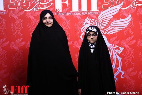 همسر و دختر شهید رضایینژاد