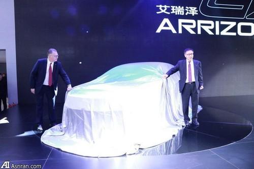 رونمایی از خودروی آرزیو 6