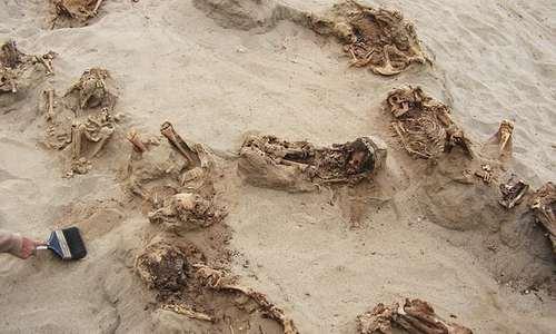 تصاویر قربانگاه کشف شده در ساحل شمالی کشور پرو