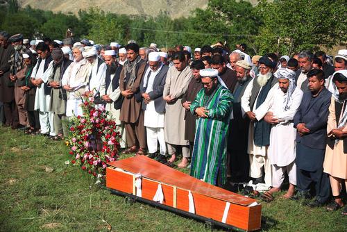 تشییع پیکر عکاس آژانس خبری