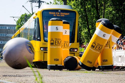 مسابقه رانندگان قطار اتحادیه اروپا در شهر اشتوتگارت آلمان