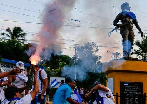 ادامه ناآرامیها در کشور نیکاراگوئه