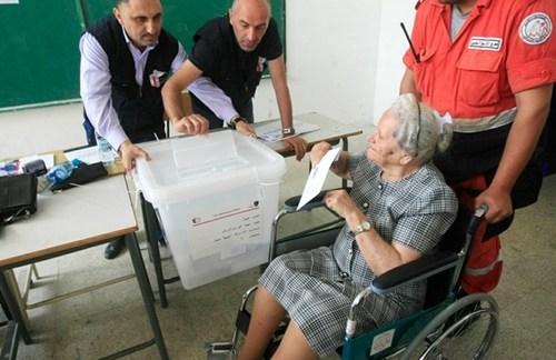 انتخابات سراسری- پارلمانی- در لبنان/ عکس: دیلی استار