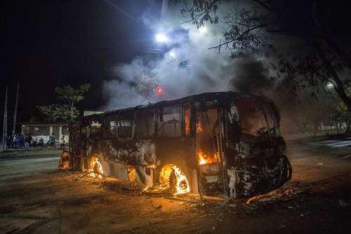 ادامه تظاهرات و ناآرامیها در شهر ماناگوئا پایتخت نیکاراگوئه