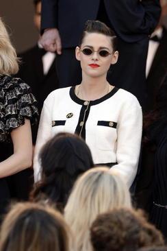 کریستین استوارت هنرپیشه آمریکایی در جشنواره فیلم کن فرانسه