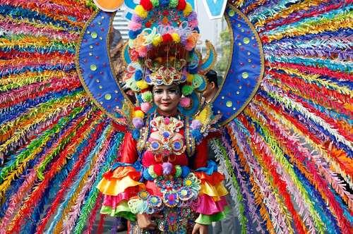 کارناوال در شهر جاکارتا اندونزی