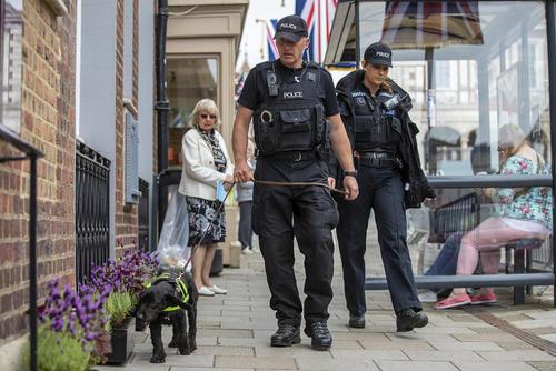 افزایش تدابیر امنیتی در لندن در آستانه برگزاری جشن ازدواج شاهزاده هری و