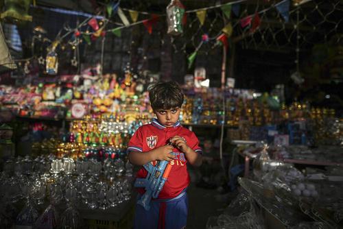 بازار شهر غزه