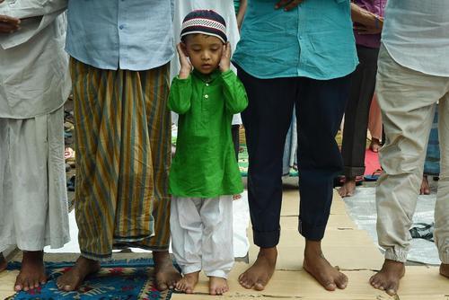 نماز جماعت در کلکلته هند