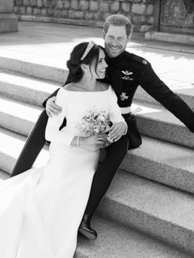 عکس منتشره از سوی زوج جدید سلطنتی بریتانیا