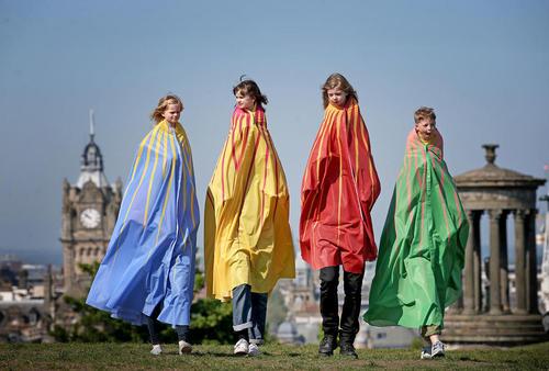 جشنواره سالانه کودکان در ادینبورگ اسکاتلند