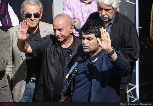 امیر علی ملک مطیعی ، پرویز پرستویی ، فرامرز قریبیان