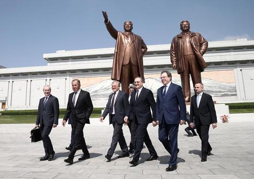 دیدار وزیر امور خارجه روسیه از پیونگ یانگ کره شمالی