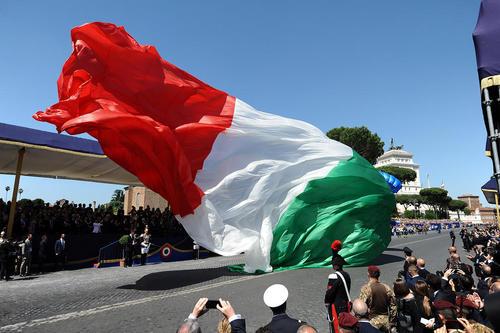 جشن روز جمهوری در پایتخت ایتالیا