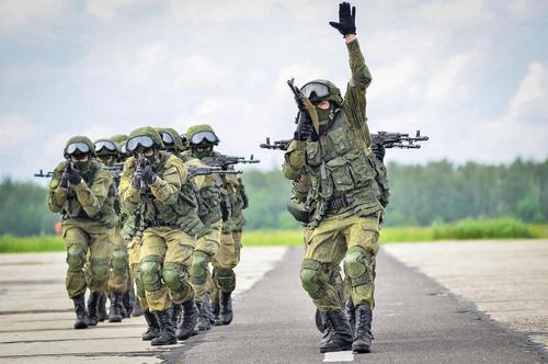 رزمایش نیروهای ویژه ارتش روسیه