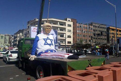 اعدام نمادین ترامپ