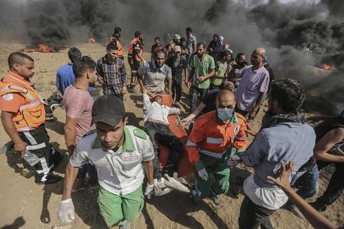 دستکم 4 کشته و صدها زخمی در تظاهرات اعتراضی ضد اسراییلی در آخرین جمعه ماه رمضان فلسطینیها در مرز باریکه غزه