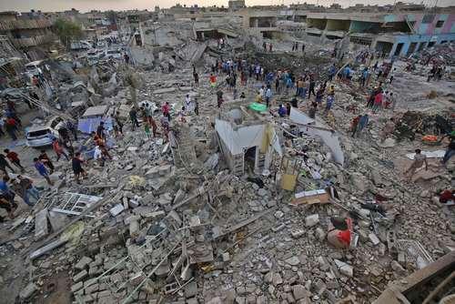 انفجار در یک انبار نظامی در شهرک صدر بغداد/ خبرگزاری فرانسه