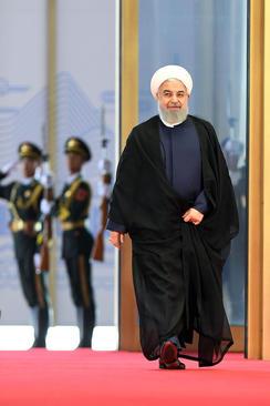 عکس خبرگزاری رسمی چین (شینهوا) از حضور حسن روحانی در اجلاس سازمان همکاری های شانگهای در شهر گیندائو چین