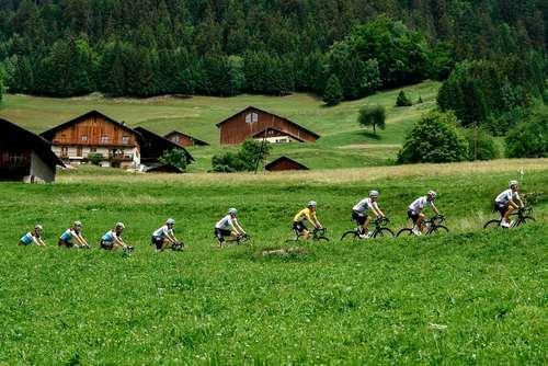 مسابقه دوچرخه سواری در فرانسه