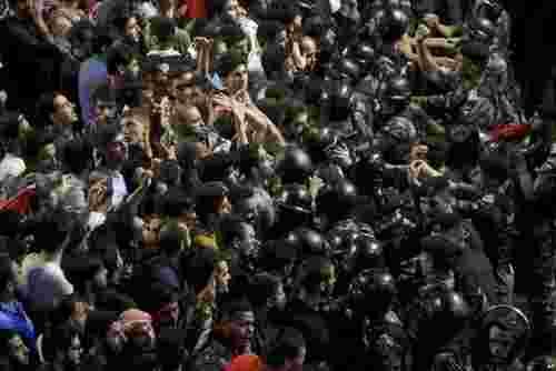 ادامه اعتراضات ضد دولتی در شهر امان پایتخت اردن