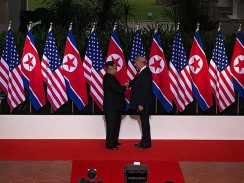دیدار سران آمریکا و کره شمالی در هتل