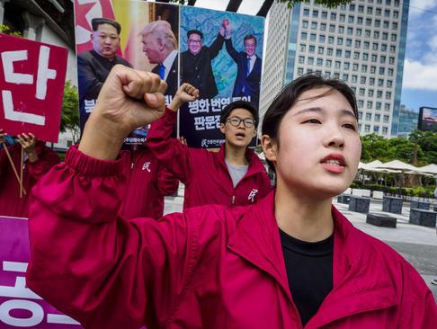 تظاهرات فعالان حزب
