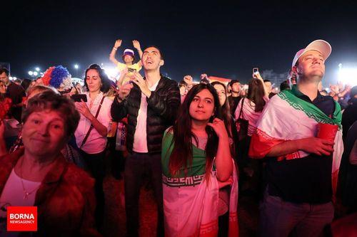 تماشاگران ایرانی در کازان روسیه
