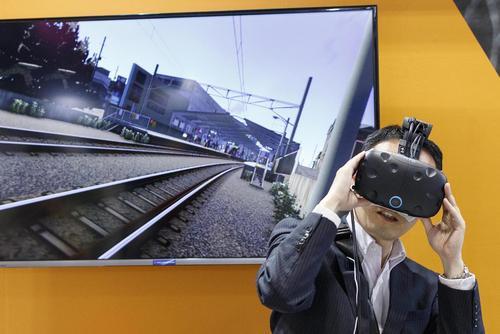 نمایشگاه سالانه واقعیت مجازی در توکیو