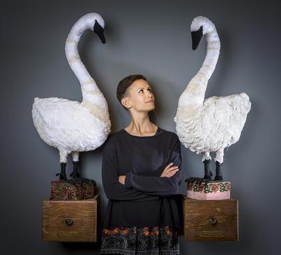 نمایشگاه آثار یک هنرمند بریتانیایی در یورکشایر