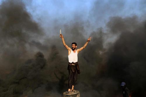 تظاهرات ضد اسراییلی هفتگی فلسطینیها برای تاکید بر حق بازگشت به سرزمین پدریشان
